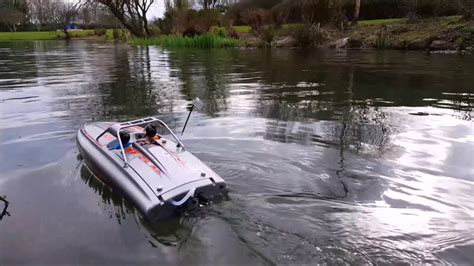 rc jet boat river pro boat river jet 23 rc jet boat first test youtube