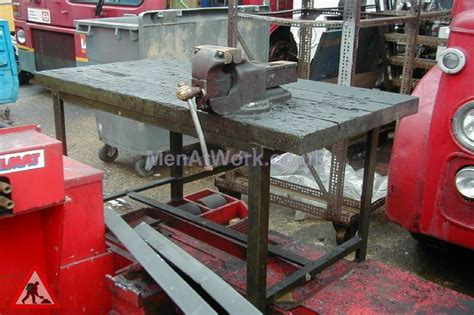 mechanic bench benches work props men at work