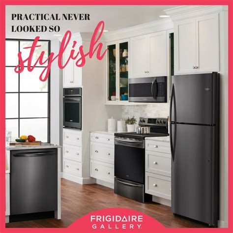 frigidaire gallery just revealed their new smudge proof