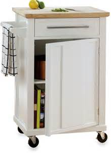 bed bath amp beyond real simple 174 rolling kitchen cart in custom diy rolling kitchen island reality daydream