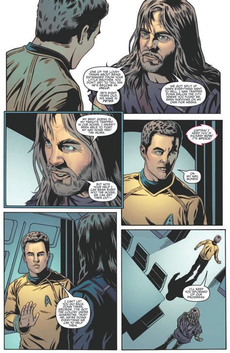 Trek Classic Omnibus 7 page preview of trek ongoing 6 in may series to take on return of the archons