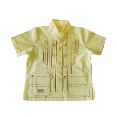 Koko Anak Kwalitas jual rafifa koko pendek model d baju koko anak kuning harga kualitas terjamin