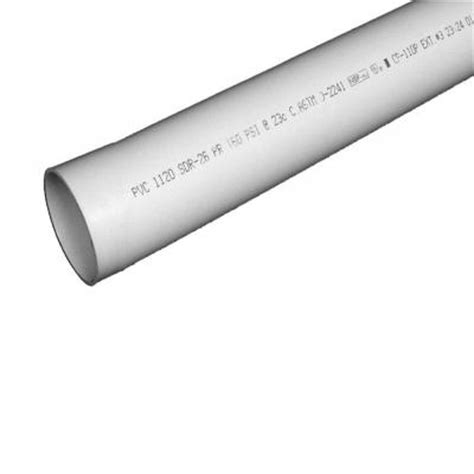 pipe 1 in x 10 ft plastic plain end pipe