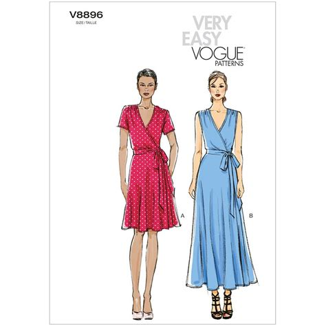 dress pattern vogue uk misses dress vogue pattern 8896 sew essential