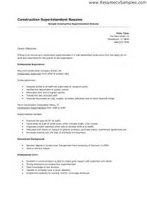 Industry Resume Sles by Golf Course Superintendent Resume Sales Superintendent