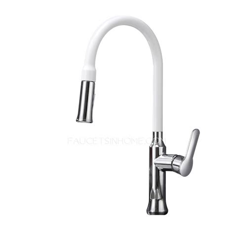 white pull kitchen faucet white kitchen faucets pull out shop kohler coralais white