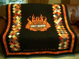 harley davidson quilt finally finished sept 2013