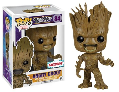Funko Pop Groot Guardians Of The Galaxy angry groot guardians of the galaxy funko pop vinyl exclusive db toys