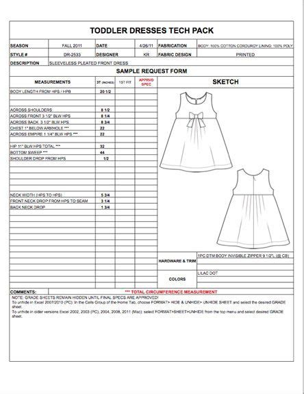 technical specification template exle 32 best images about fashion apparel tech pack templates