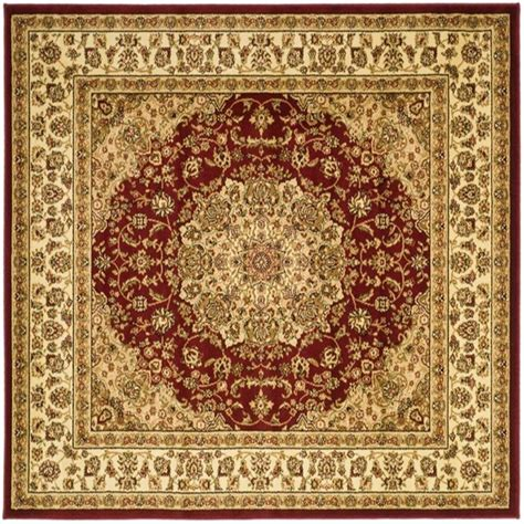 8 X 8 Rug Square by Safavieh Adirondack Ivory Silver 8 Ft X 8 Ft Square Area