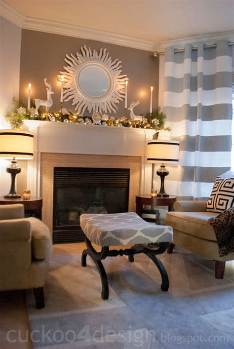 seating in front of fireplace colorful christmas home tour cuckoo4design