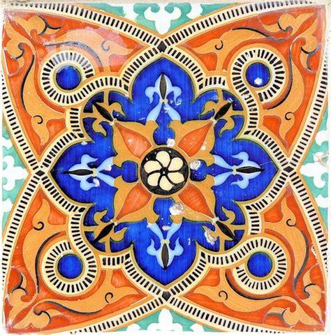 Moderne Mosaik Vorlagen Barcelona Angl 237 088 E Interesting Blue And Orange Haus Fliesen Und Spanisch
