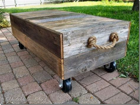 Rolling Ottoman Coffee Table 604 Best Images About Repurposed Pieces On
