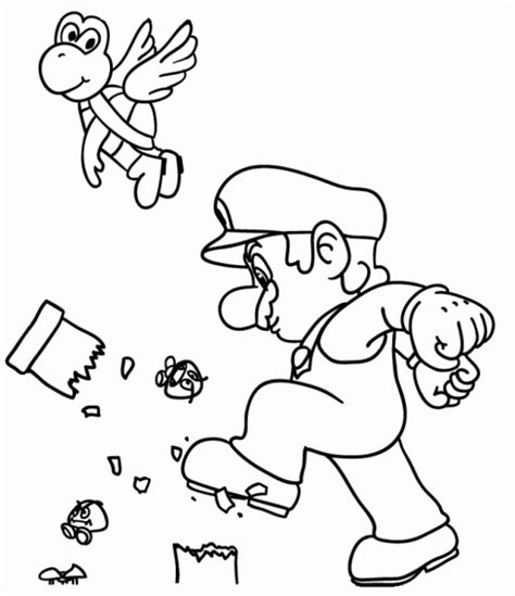 Free Printable Mario Coloring Pages For Kids Coloring Pages Toddlers