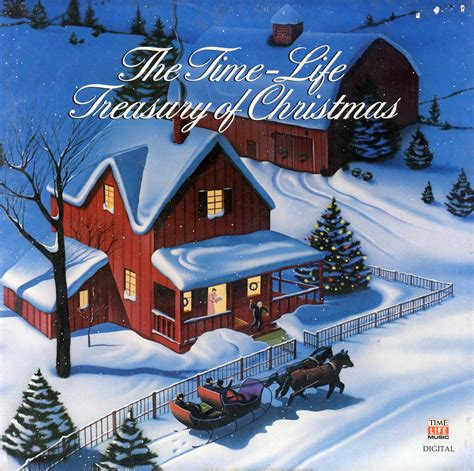 time life treasury of christmas stl107 vinyl lp record