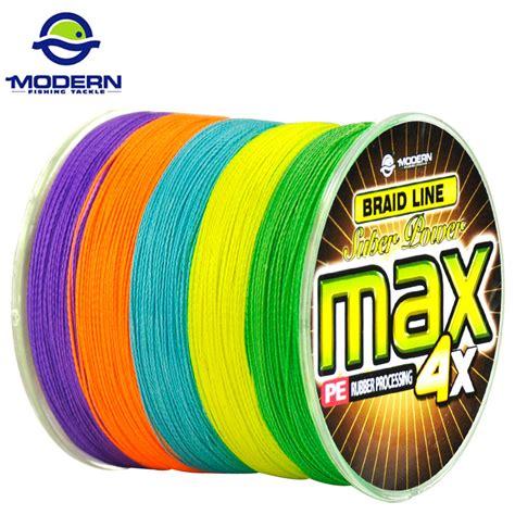 Braid Max Pe 5 500m 50lb Multicolor 300m Modern Fishing Brand Max Series Multicolor 10m 1