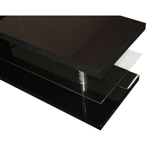 Black Rectangle Coffee Table Modern Rectangle Coffee Table In Black Mdf Glass Buy Coffee Tables
