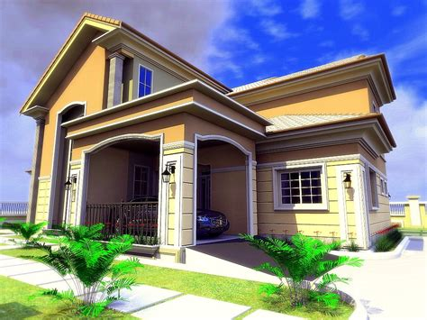bungalow house with 3 bedrooms residential homes and public designs 3 bedroom bungalow with pent house suite