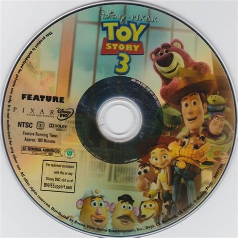 Dvd Juventus 2 Disc replacement disc disney story 3 dvd disc only