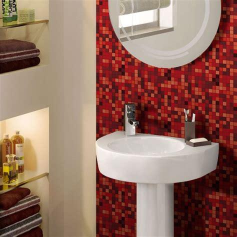 azulejo quadriculado para cozinha adesivo de azulejo geom 233 trico vermelho quadriculado kit