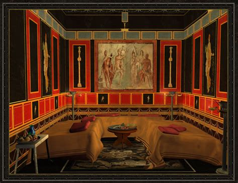 Ancient Dining Room by Quot Tweedland Quot The Gentlemen S Club The Triclinium The