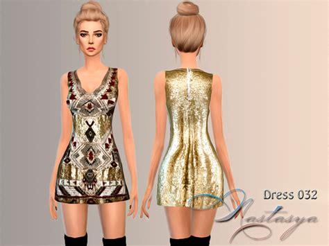 Dress Mini 311 embelished mini dress 032 by nastas ya at tsr 187 sims 4 updates