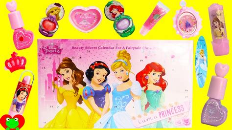 Disney Advent Calendar Disney Princess Advent Calendar 24 Surprises Lip