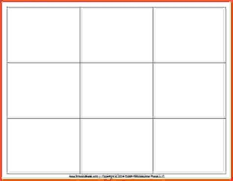 free flash card template for word blank printable flash cards the best letter sle