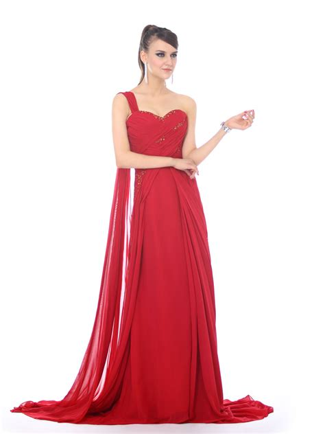 one shoulder prom dresses are very trendy one shoulder prom dresses designs with bright colors