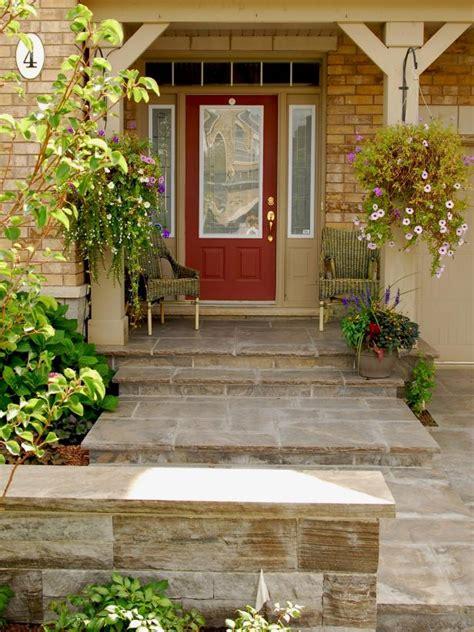 brick front veranda schritte photo page hgtv