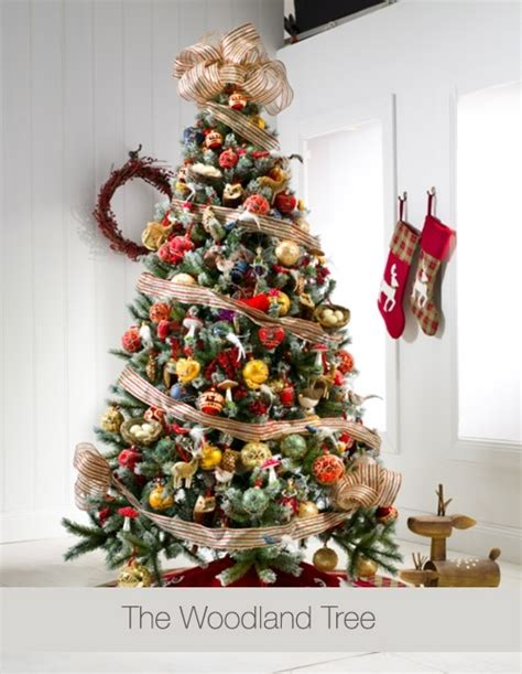 16 best woodland christmas tree images on pinterest