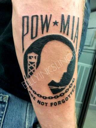 pow mia tattoos pow billyinkslinger tattoos