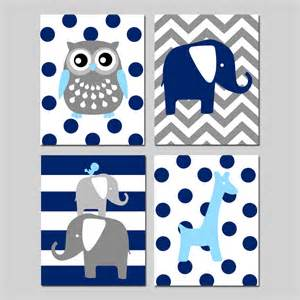 Navy Nursery Decor Navy Nursery Decor Navy Blue Nursery Wall Animal Nursery