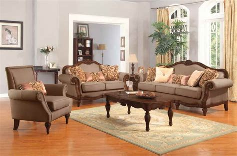 Traditional Chairs For Living Room | living room traditional living room furniture with wooden table cozy look of a traditional
