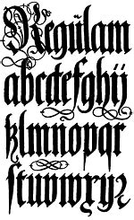 All Roads Lead to Blackletter » Calyx Design