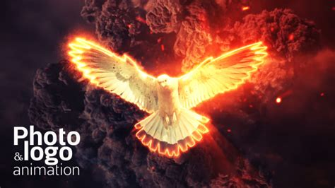 Videohive Fire Explosion Logo Photo Animation Free After Effects Template Videohive Projects After Effects Explosion Template Free