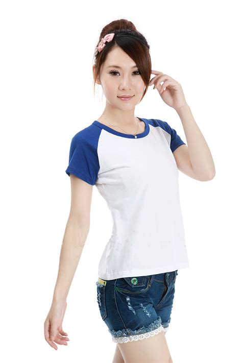 Kaos Wanita kaos polos katun wanita o neck size m 86205 t shirt