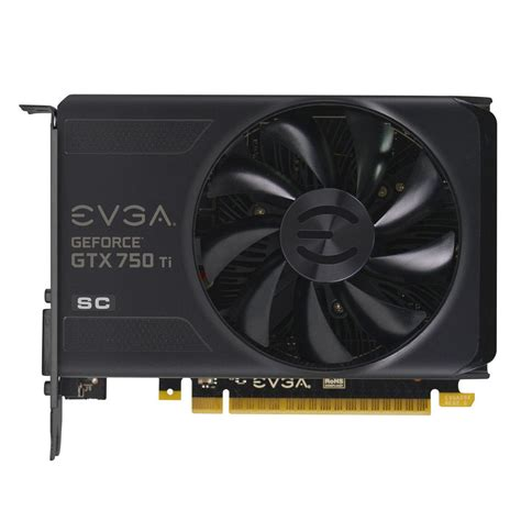 Vga Gtx 750 Ti evga geforce gtx 750ti superclocked 2gb gddr5 graphics card 02g p4 3753 kr