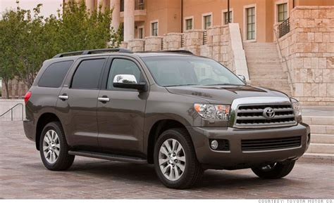 Toyota Suv Names Large Suv Toyota Sequoia Consumer Reports Names Most