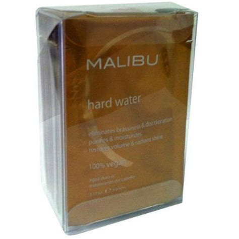 Malibu Detox Hair Treatment by Malibu C Water Weekly Demineralizer 12 Packets By