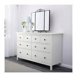 hemnes chest of 8 drawers white stain 160x96 cm ikea