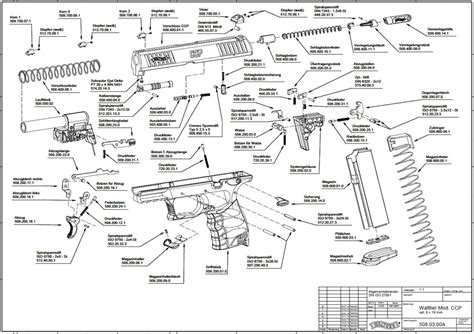 walther p22 parts diagram brand new walther ccp in 9 mm luger available now
