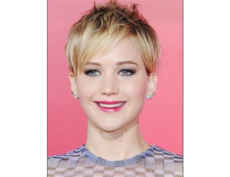short hair cuts for round faces riawna capri jennifer lawrence short hair hair styles pinterest