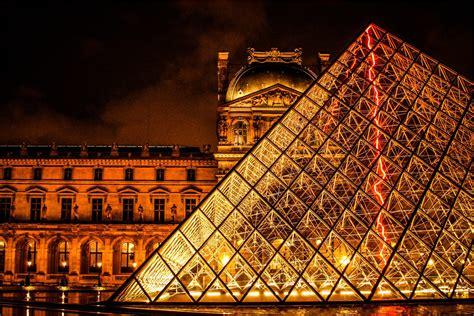 Fondo de Pantalla de Pirámide, Louvre, Museo, París