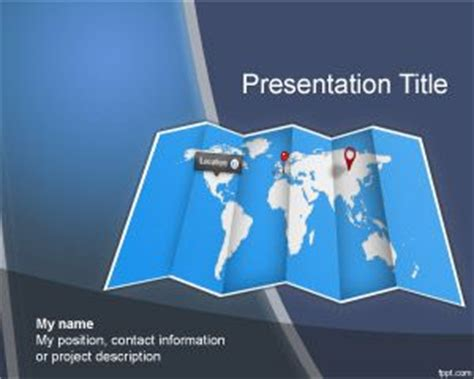 powerpoint themes geography worldmap powerpoint template for microsoft powerpoint