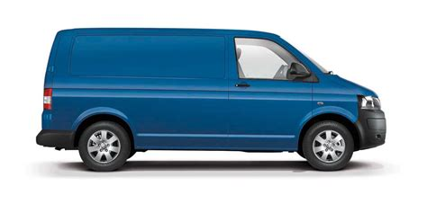 blue volkswagen van volkswagen celebrates 60 years of the transporter van in