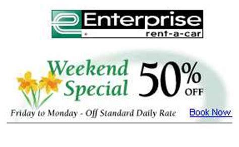 canadian deals car rental weekend specials canadian freebies coupons deals bargains
