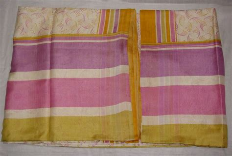 sari fabric curtains vintage pure silk 5 yard fabric saree sari curtains drape