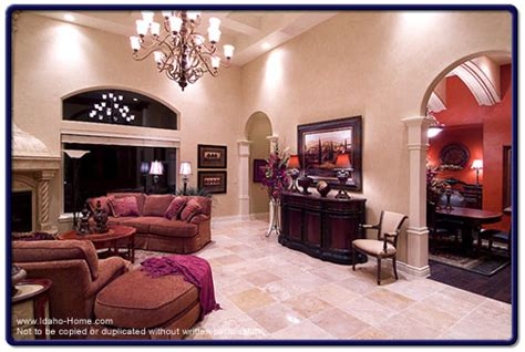 travertine living room using travertine tile characteristics sizes and colors