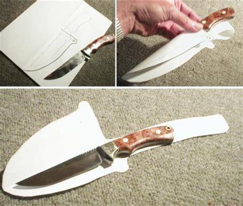how to make a sheath for a knife northcoast knives tutorials leather sheath